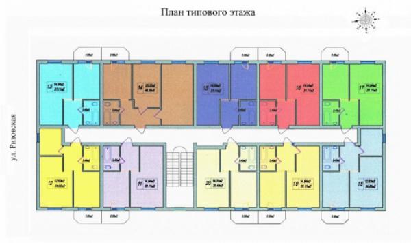 """Жилой комплекс ЖК """"Дом на Ризовской"""", фото номер 2"""